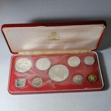 BAHAMAI 1974 m. 9 monetų proof rinkinys