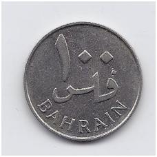 BAHREINAS 100 FILS 1965 KM # 6 XF