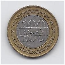 BAHREINAS 100 FILS 1992 KM # 20 VF
