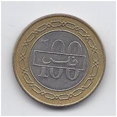 BAHREINAS 100 FILS 2005 KM # 26.1 VF