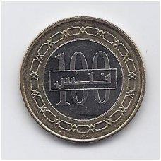 BAHREINAS 100 FILS 2009 KM # 26.2 XF