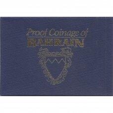 BAHREINAS 1965 m. OFICIALUS BANKINIS PROOF SET