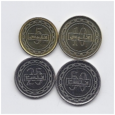 BAHREINAS 2010 - 2011 m. 4 monetų rinkinukas