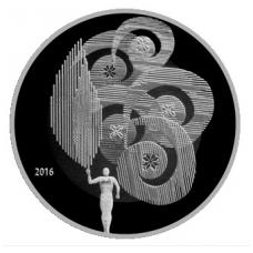 BALTARUSIJA 1 RUBLIS 2016 OLIMPINIS JUDĖJIMAS