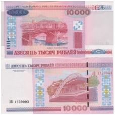 BALTARUSIJA 10 000 ROUBLES 2000 ( 2011 ) P # 30b UNC