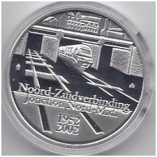 BELGIJA 10 EURO 2002 KM # 233 GELEŽINKELIS