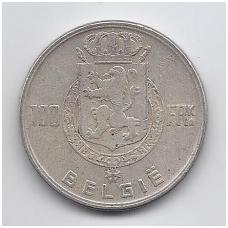 BELGIJA 100 FRANCS 1951 KM # 139.1 VF
