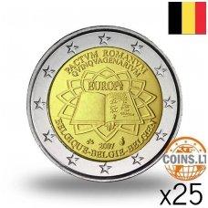 BELGIJA 2 EURAI 2007 50M ROMOS SUTARČIAI RITINĖLIS (25 vnt.)