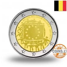 BELGIUM 2 EURO 2015 FLAG