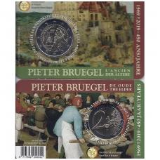 BELGIJA 2 EURAI 2019 PIETER BRUEGEL (KORTELĖJE)