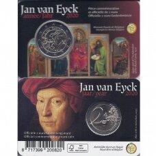 BELGIJA 2 EURAI 2020 Jan van Eyck ( KORTELĖJE )
