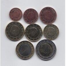 BELGIUM 2004 FULL EURO SET
