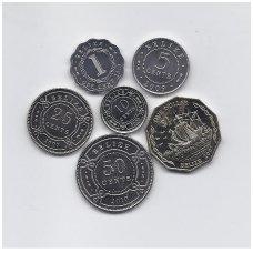 BELIZAS 2000 - 2010 m. 6 monetų komplektas