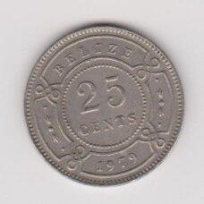 BELIZE 25 CENTS 1979 KM # 36 VF