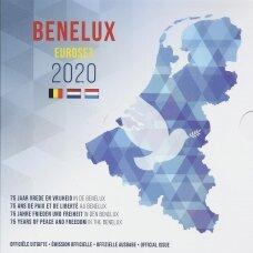 BENELIUKSAS (BELGIJA-NYDERLANDAI-LIUKSEMBURGAS) OFICIALUS 2020 m. RINKINYS ( 3 rinkiniai )