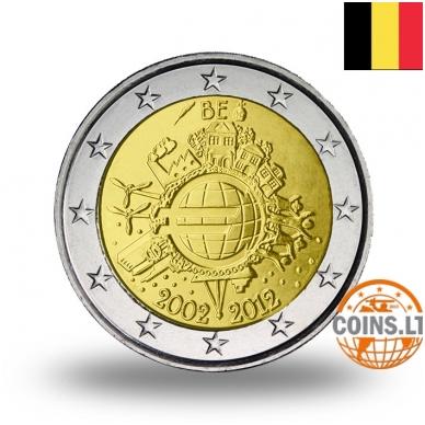 BELGIJA 2 EURAI 2012 10M. EURUI
