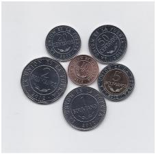 BOLIVIJA 2012 m. 6 monetų komplektas