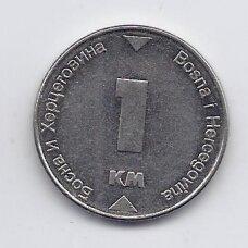BOSNIJA IR HERCEGOVINA 1 MARKA 2002 KM # 118 VF