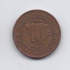 BOSNIJA IR HERCEGOVINA 10 FENINGA 2004 KM # 115 VF
