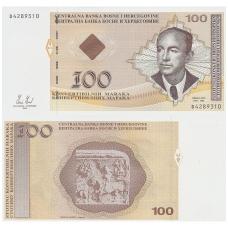 BOSNIJA IR HERCEGOVINA 100 CONVERTIBLE MARAKA 2008 P # 79b UNC