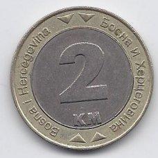 BOSNIJA IR HERCEGOVINA 2 MARKE 2000 KM # 119 VF