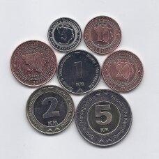 BOSNIJA IR HERCEGOVINA 2008 - 2013 m. 7 monetų rinkinys