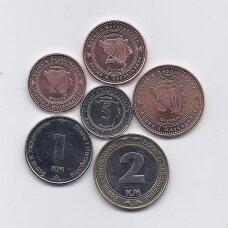 BOSNIJA IR HERCEGOVINA 2008 - 2013 m. 6 monetų rinkinukas