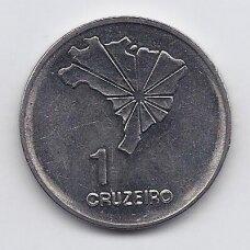 BRAZILIJA 1 CRUZEIRO 1972 KM # 582 XF Nepriklausomybė