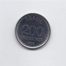 BRAZILIJA 200 CRUZEROS 1985 KM # 596 XF