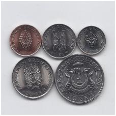 BRUNĖJUS 2005 m. 5 monetų rinkinukas