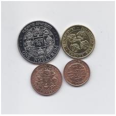 BUTANAS 1979 m. 4 monetų komplektas