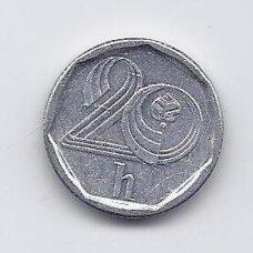 ČEKIJA 20 HALERU 1995 KM # 2 VF