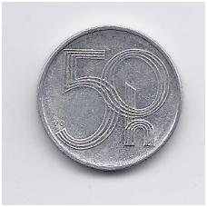 ČEKIJA 50 HALERU 1993 KM # 3 VF