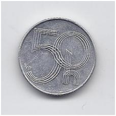 ČEKIJA 50 HALERU 1997 KM # 3 VF