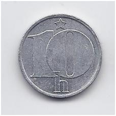 ČEKOSLOVAKIJA 10 HALERU 1979 KM # 80 VF