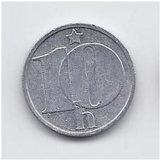 ČEKOSLOVAKIJA 10 HALERU 1986 KM # 80 VF