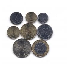 CENTRINĖ AFRIKA 2006 m. 8 monetų komplektas