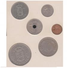 DANIJA 1982 m. monetų rinkinys