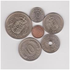 DANIJA 1983 m. monetų rinkinys