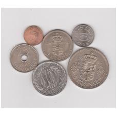 DENMARK 1984 COINS SET