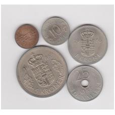DENMARK 1986 COINS SET