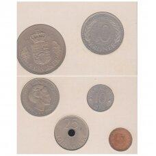 DANIJA 1987 m. monetų rinkinys