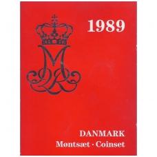 DANIJA 1989 m. OFICIALUS BANKO RINKINYS