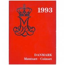DANIJA 1993 m. OFICIALUS BANKO RINKINYS