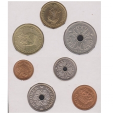 DANIJA 1994 m. monetų rinkinys