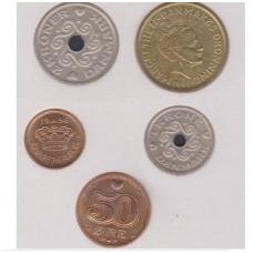 DANIJA 1996 m. monetų rinkinys