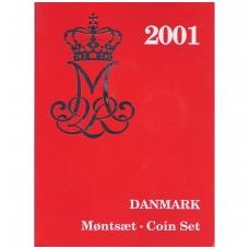 DANIJA 2001 m. OFICIALUS BANKO RINKINYS