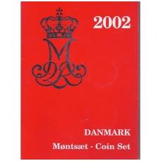 DANIJA 2002 m. OFICIALUS BANKO RINKINYS