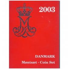 DANIJA 2003 m. OFICIALUS BANKO RINKINYS