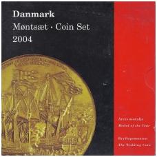 DANIJA 2004 m. OFICIALUS BANKO RINKINYS